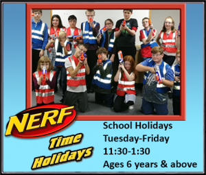 Nerf Time Holidays