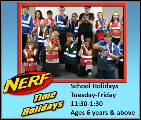 Nerf Time Holidays