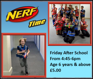 Nerf Time on Fridays