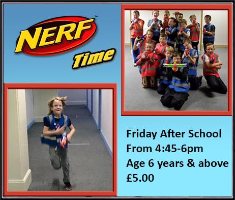 Nerf Time on Fridays