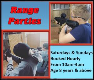 Range party times